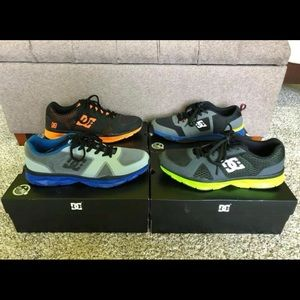 4 pairs of DC shoes